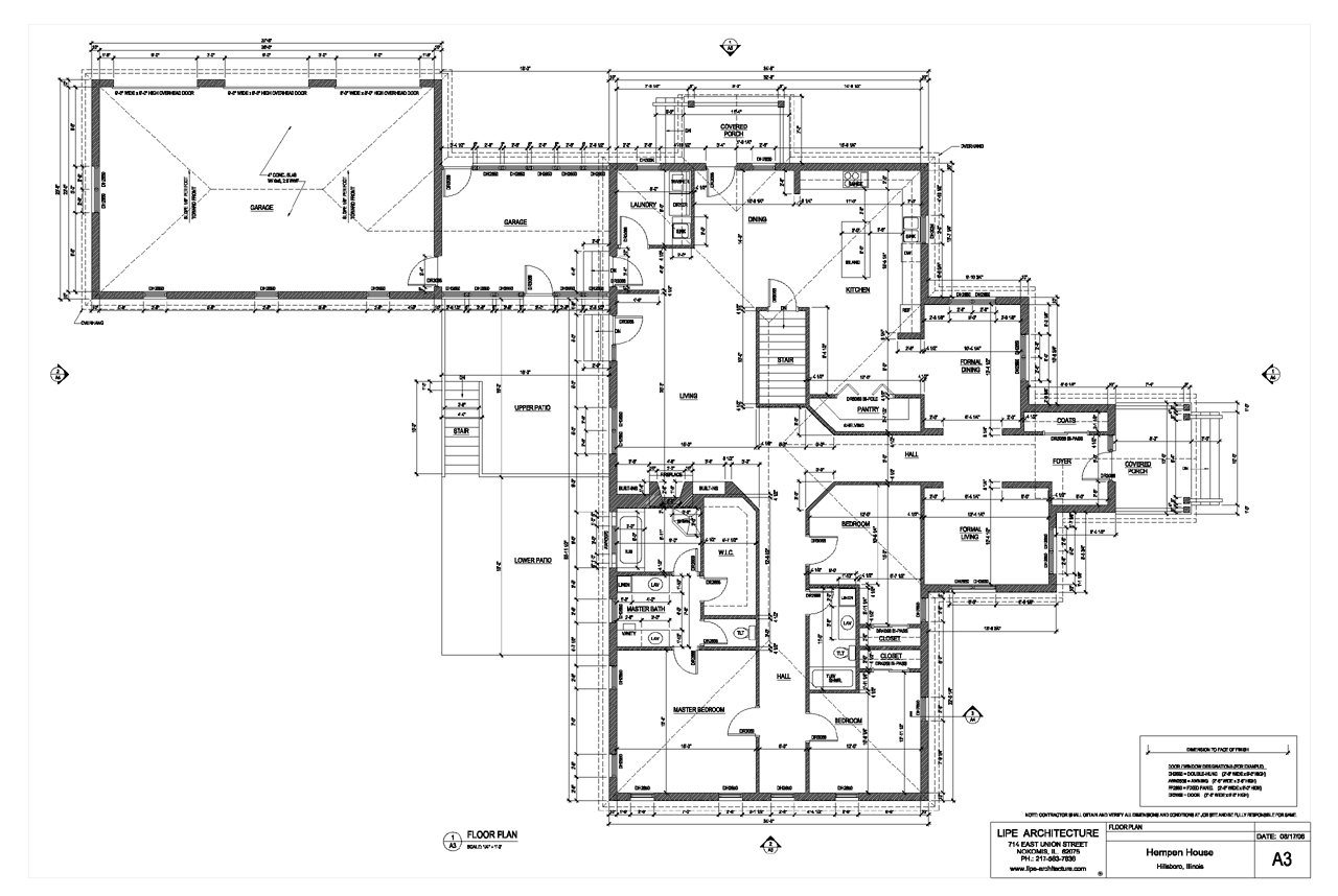 House plans and design for Architectural house plan